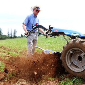 Rotary Plow in Use