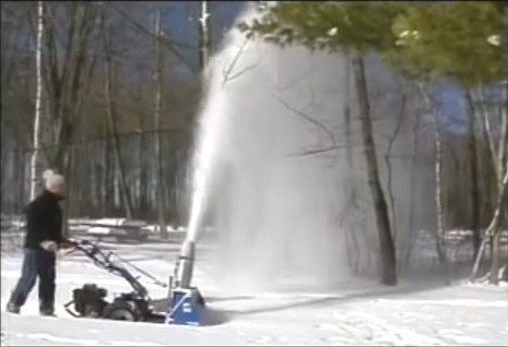 BCS Snow Blower Attachment