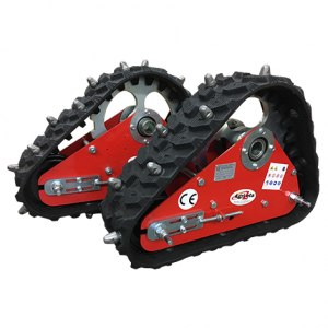 Rubber Tracks with Studs for Model 660 Hydrostatic