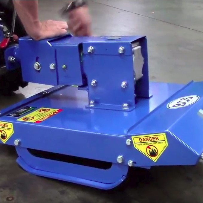 How to Assemble the Brush Mower