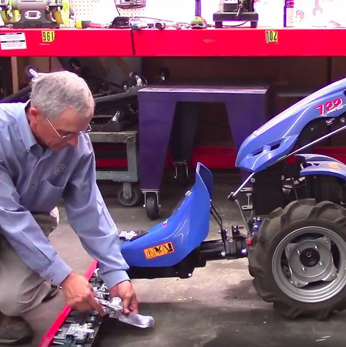 How to Assemble the Sickle Bar Mower